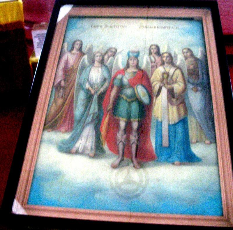 Храмовая икона Архистратига Михаила и прочих Небесных Сил бесплотных