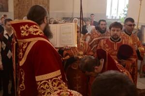 возведения в сан протоиерея священника Виталия Спирина